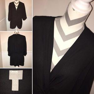 ASOS | gathered waist long sleeve top